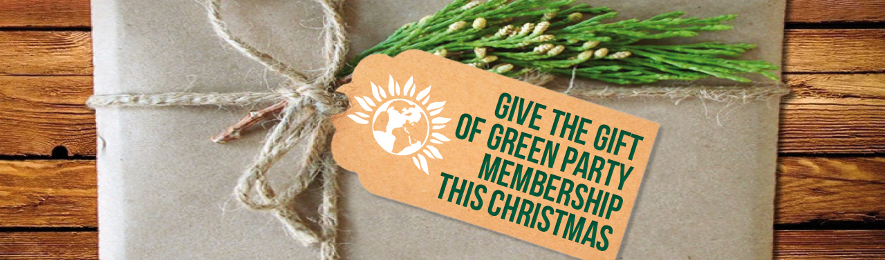 Gifting Membership of the Green Party of England and Wales