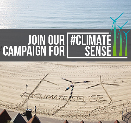 Join our Campaign for Climate Sense